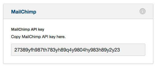 Integração optimizepress com Mailchimp