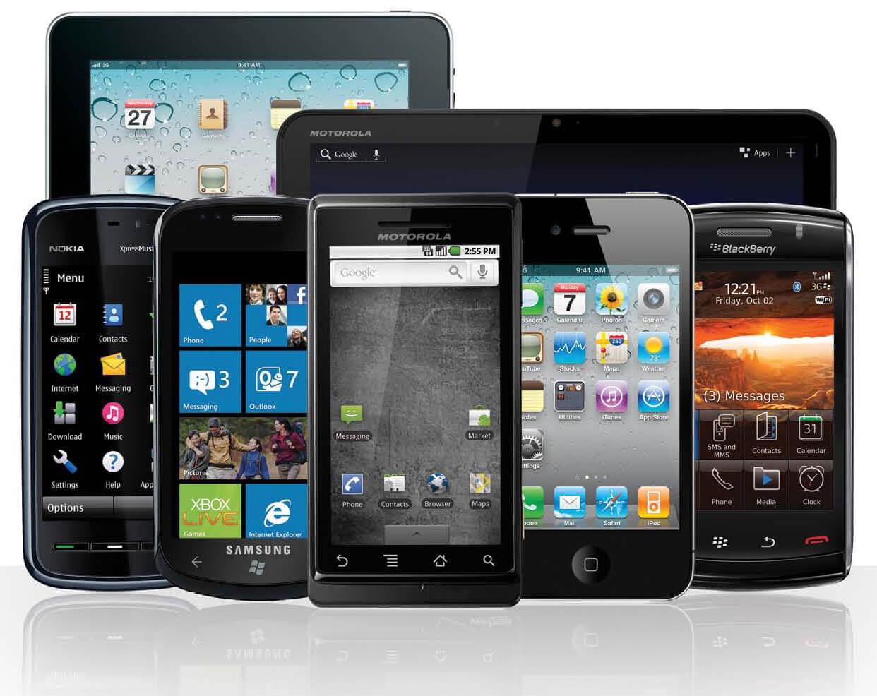 Aumento de uso mobile no Brasil